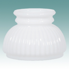 Miniature lamp shades lampshade glass replacement opal quilted 2487 white ribbed miniature student shade 4 aloadofball Gallery