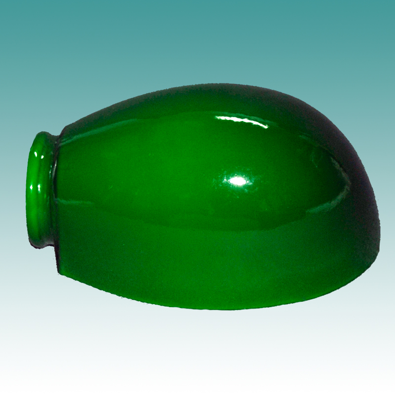 1445 green cased gooseneck shade glass lampshades 1445 green cased gooseneck shade aloadofball Images