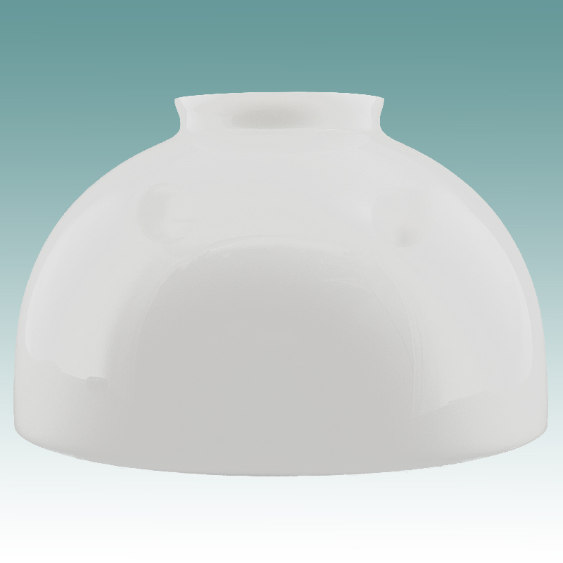 2429 White Dome Shade 10 Quot Glass Lampshades