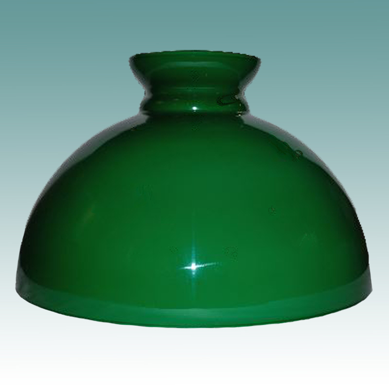 2446 s green cased glass student shade 14 glass lampshades. Black Bedroom Furniture Sets. Home Design Ideas