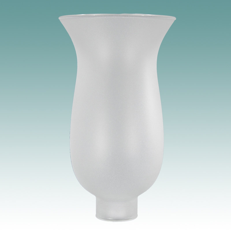 4453 Frosted Hurricane 1 5 8 Quot X 10 Quot Glass Lampshades