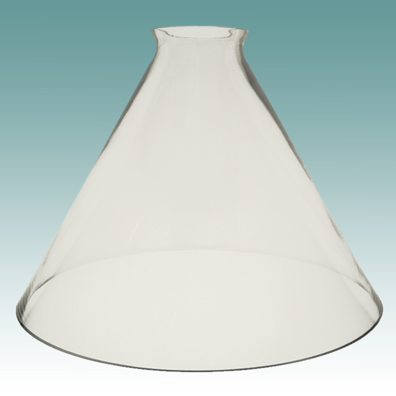 6517 Clear Glass Cone Shade Glass Lampshades