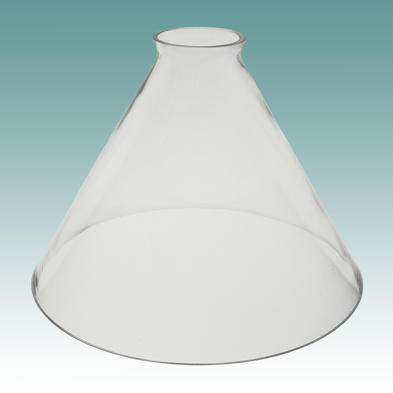 6517 Clear Gl Cone Shade Lampshades