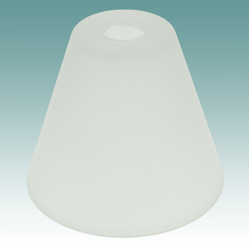 7803 Frosted Neckless Shade Glass Lampshades
