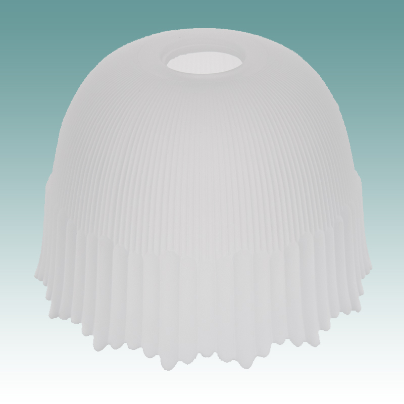 7825 Frosted Flower Shade Glass Lampshades