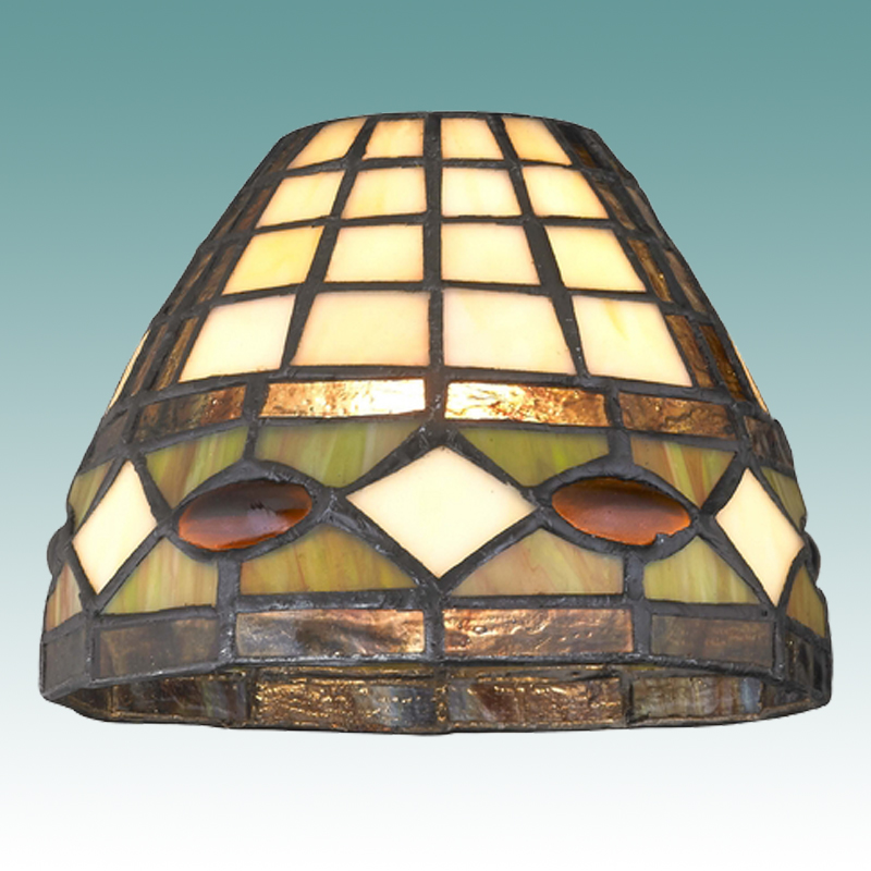 7838 s tiffany style glass shade glass lampshades. Black Bedroom Furniture Sets. Home Design Ideas