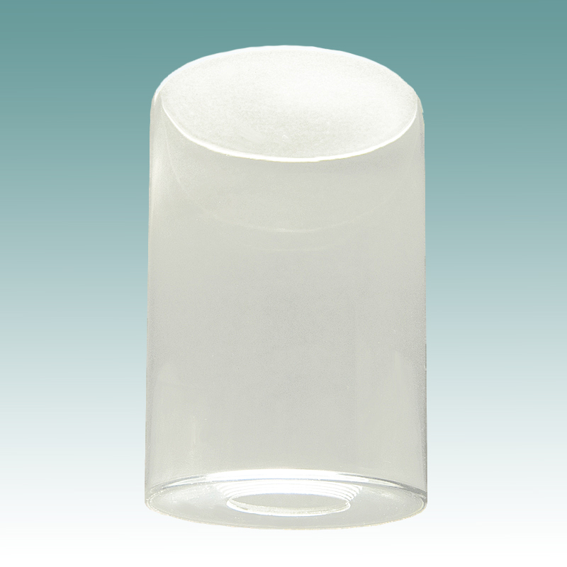 7907 Clear Glass Cylinder Neckless Shade Glass Lampshades