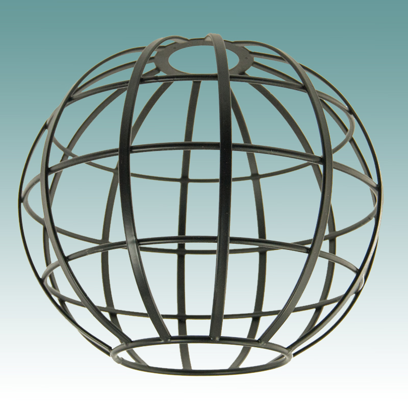 7911 - Black Wire Globe Neckless Shade 8 1/4\