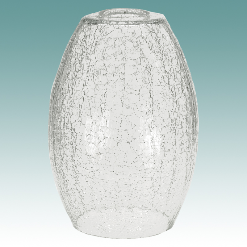 7933 crackle glass neckless shade glass lampshades 7933 crackle glass neckless shade aloadofball Gallery