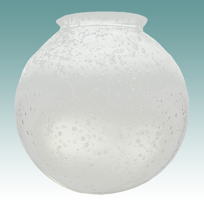8411 Clear Seeded Glass Globe 3 1 4 Quot X 6 Quot Glass Lampshades