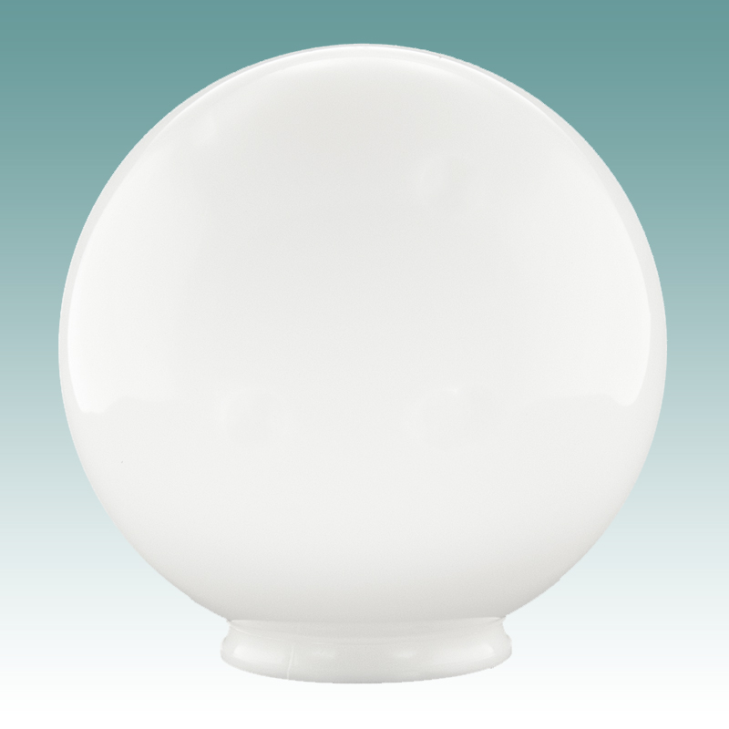 8439 F White Acrylic Globe 4 X 12 Glass Lampshades
