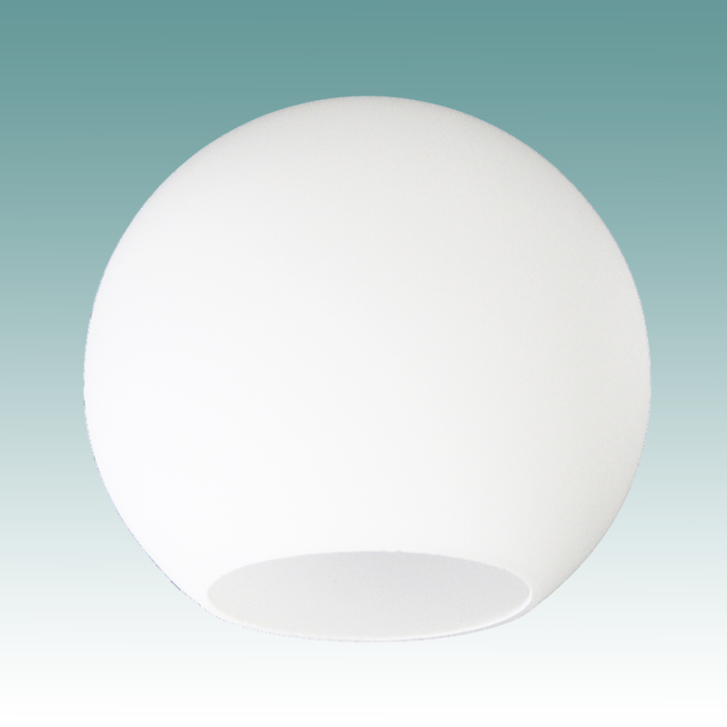 8498 Opal Neckless Globe 4 Quot X 8 Quot Glass Lampshades