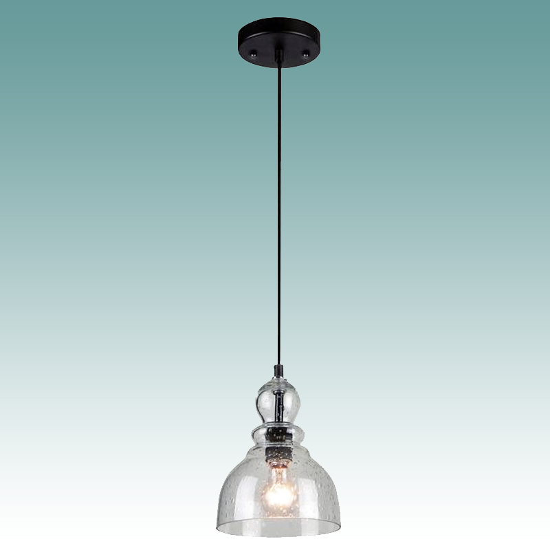8919 S Seeded Glass Pendant Glass Lampshades