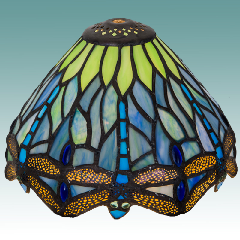 9596 S Tiffany Style Lamp Shade 7 Quot Glass Lampshades