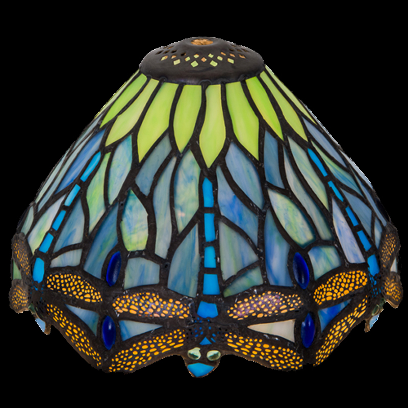 9596 s tiffany style lamp shade 7 glass lampshades tiffany style lamp shade aloadofball Images