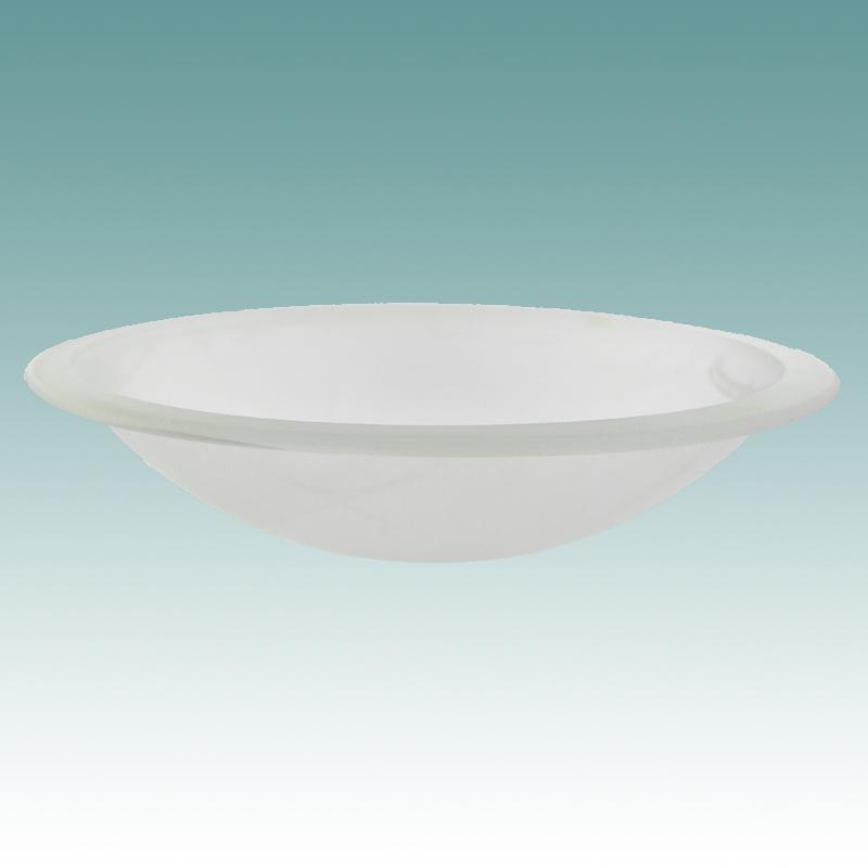 Faux Alabaster Glass Shade Zef Jam