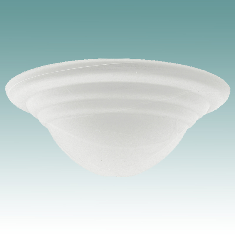 9684 Faux Alabaster Rib Shade 15 3 4 Quot Glass Lampshades