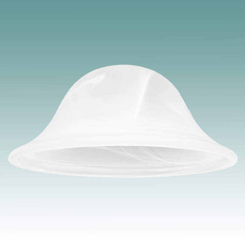 9800 Faux Alabaster Shade 4 3 16 Quot X 9 1 2 Quot Glass