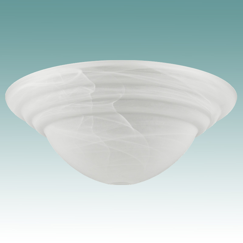 9950 Frosted Swirl Alabaster Glass Torchiere 18