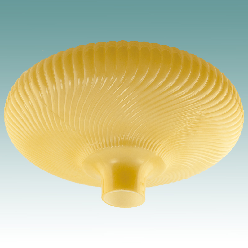 9959 S Nugold Ribbed Swirl Torchiere 16 Quot Glass Lampshades