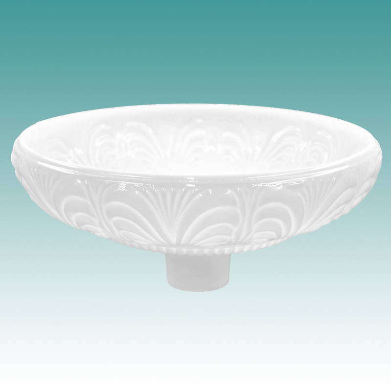 9961 S Pearl Lustre Torchiere Shade 14 Quot Glass Lampshades