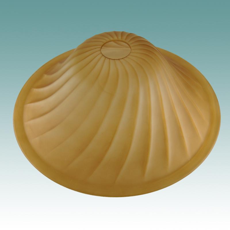 9985 - amber swirl torchiere 13 1  8 u0026quot