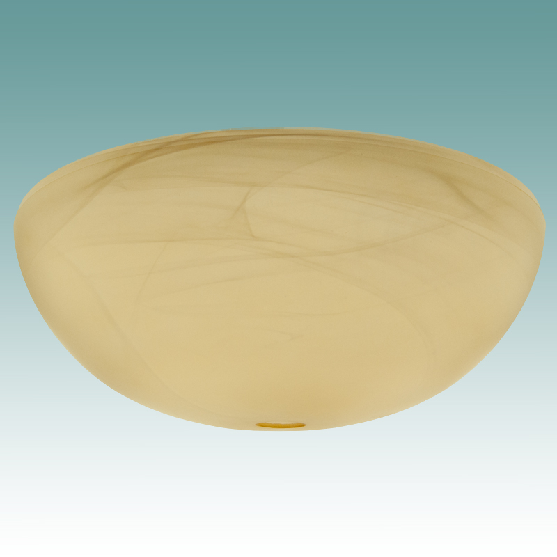 9991 Light Amber Faux Alabaster Torchiere 17 7 8