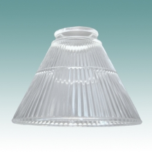 "Conical Glass Shades 2 1/4"" Fitters"
